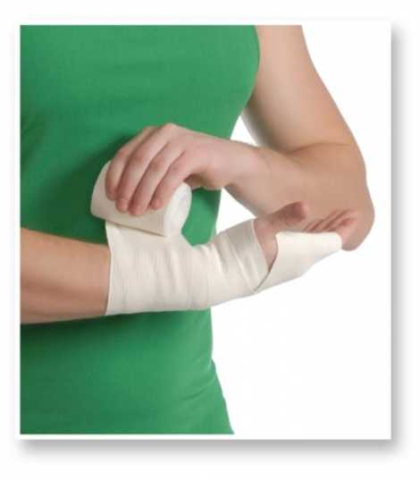 Medical Elastic Bandage with Medium Tensility 100mm