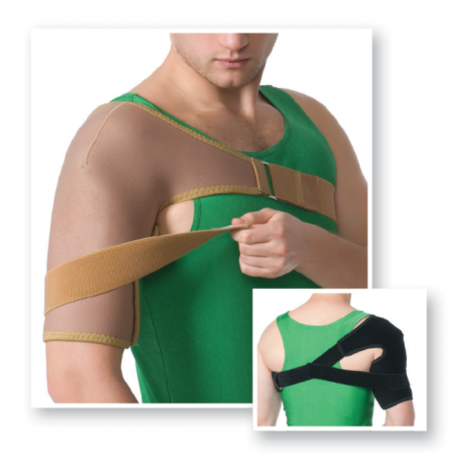 Shoulder Wrap with Additional Fixation