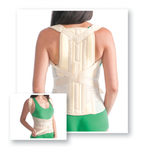 Posture Brace With Stays (Hard Fixation)
