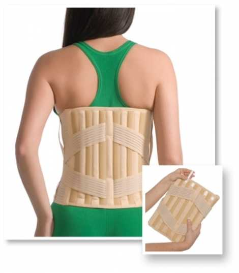 Elastic Sacrolumbar Medical Support (with 4 stays)