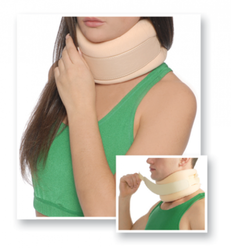 Soft Fixation Cervical Collar with Rigid Panel