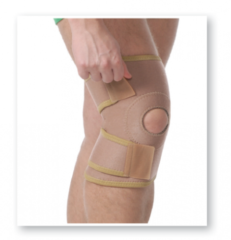 Knee Joint Support With Patella Pad