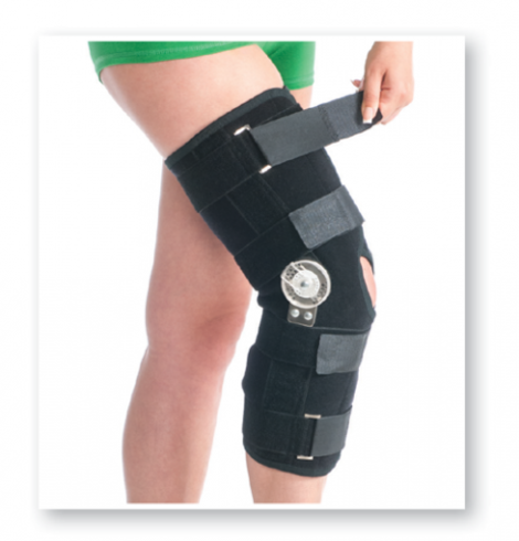 Hinged Stabilizing Knee Brace
