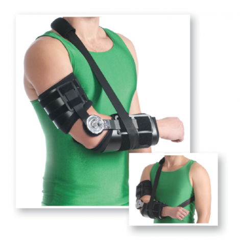 Rom Elbow Brace (with Hinge)