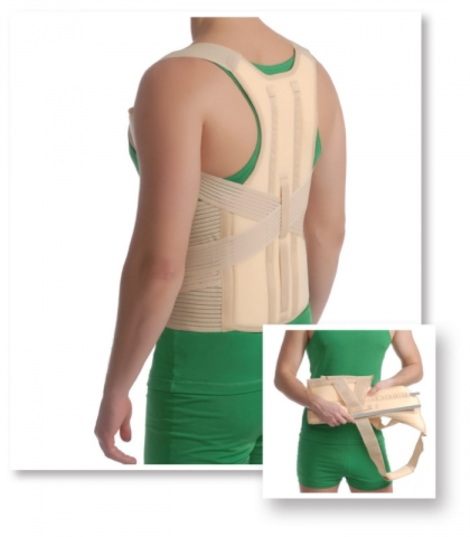 Posture Brace With Stays