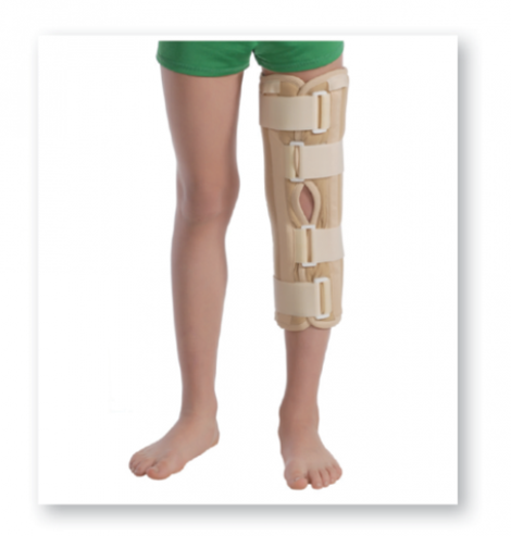 Knee Immobilizer with Ribs and Intensive Fixation (The Tutor)