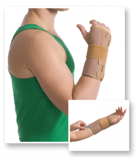 Wrist Wrap with Stays