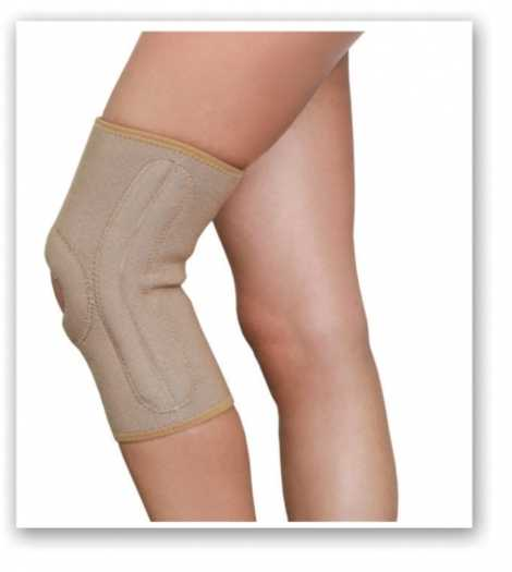 Knee Joint Support With Stays