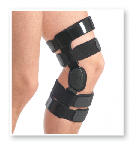 Post Operative Knee Brace (With Hinge) (Art. # 6306)